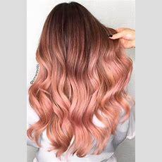 50 Unwiderstehliche Rose Gold Haarfarbe Sieht Aus, Dass