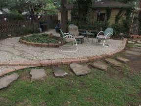 gardening landscaping pea gravel patio ideas interior decoration and home design
