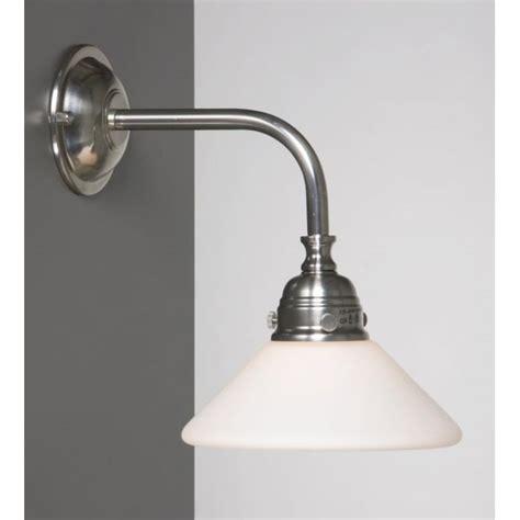 victorian or edwardian period bathroom wall light satin