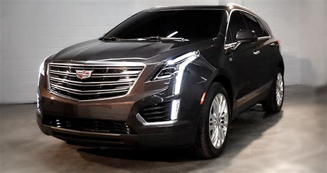 cadillac xt revealed   official