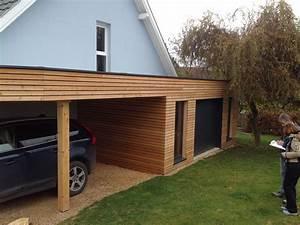 garage bois toit plat garage pinterest garage bois With construction garage toit plat