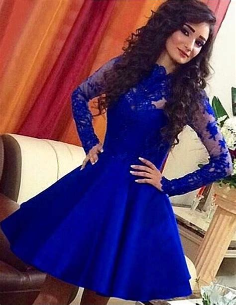 royal blue homecoming dresses  sexy short prom dress