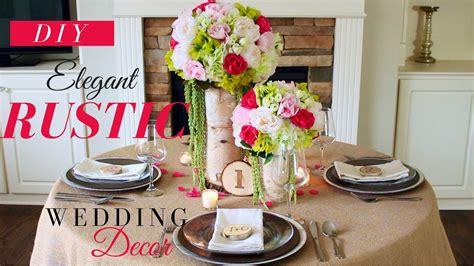Elegant Shabby Chic Wedding Decorations