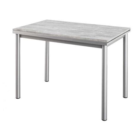 table cuisine bistrot table de cuisine en stratifié avec rallonges basic 4
