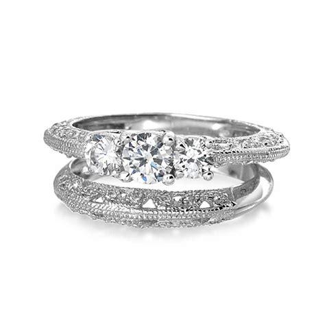 Vintage 3 Stone Round Cz Wedding Anniversary Ring Set 925. Wedding Rings. Natural Wood Engagement Rings. Baroque Style Wedding Rings. Stunning Diamond Wedding Rings. Blackened Wedding Rings. Diamond Square Engagement Rings. Wed Wedding Rings. Light Blue Wedding Rings
