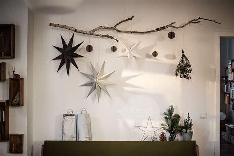 Weihnachtsdeko Wohnzimmer Fenster by Ast Sterne Ho Ho Ho Gem 252 Tliche Weihnachten Holzdeko
