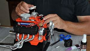 Hot Rod Engine Tech Build A Hemi  On Your Kitchen Table