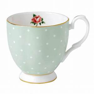 Mug à Thé : royal albert polka rose vintage mug small royal albert australia ~ Teatrodelosmanantiales.com Idées de Décoration