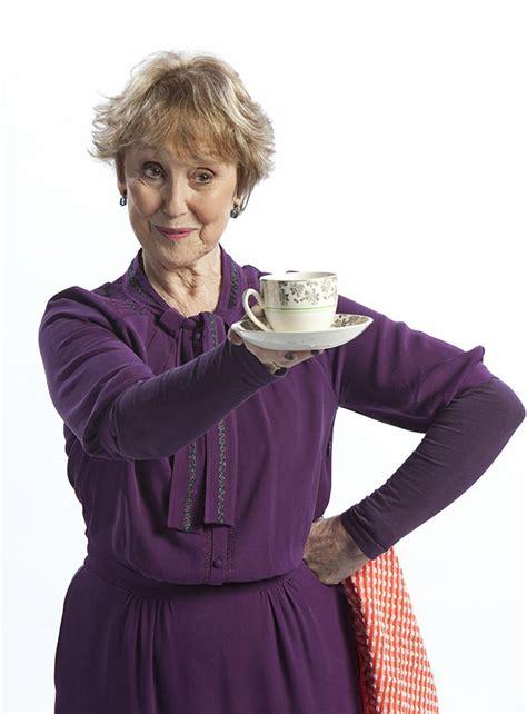 hudson sherlock mrs holmes bbc una stubbs tea season cup landlady