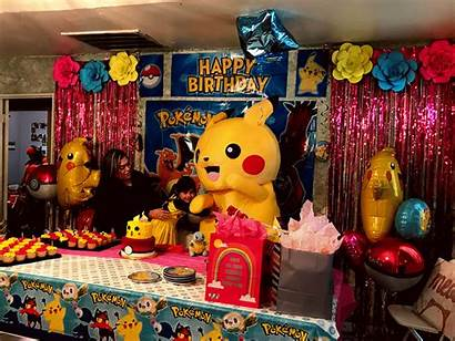 Houston Party Birthday Mascot Pikachu Character Mouse