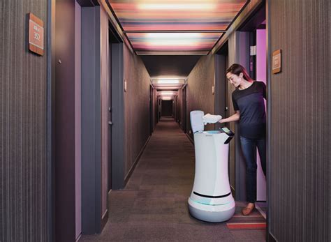 Cupertino's Aloft Hotel Rolls Out Savione Robotic Bellhop