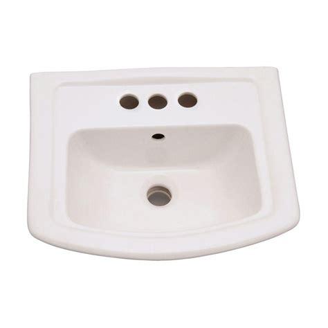 american standard retrospect sink home depot american standard retrospect 27 in w pedestal sink basin
