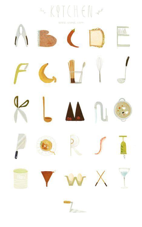 ustensile de cuisine commencant par p épinglé par frenchnougat sur tipography