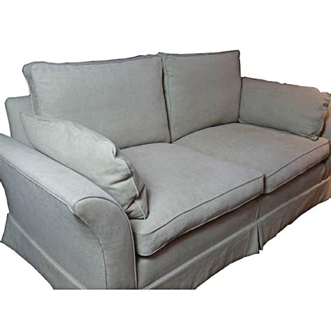 Small Settee Sofa by Small Settee Sofa Modern Linen Upholstered With