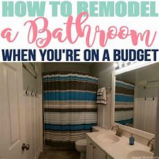 How To Remodel Your Bathroom On A Budget  Simple Made Pretty