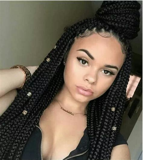 box braided queentry  box braid styles  http