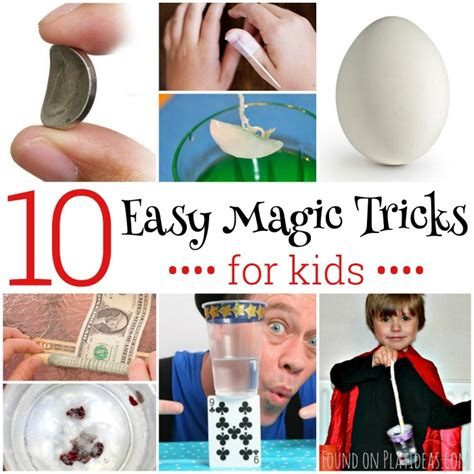 10 Easy Magic Tricks For Kids  Page 3