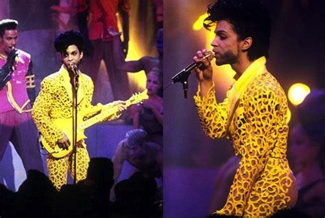prince yellow jumpsuit vma performance of the day prince quot gett quot philly mixtape