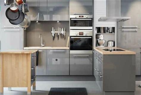cuisine noir laqué plan de travail bois acheter une cuisine ikea le meilleur du catalogue ikea