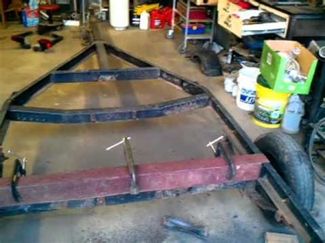 Turn A Boat Trailer Into A Utility Trailer by How To Turn A Boat Trailer Into A Flatbed 3 Of 14