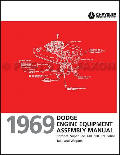 Coronet Super Bee Wiring Diagram Manual Reprint