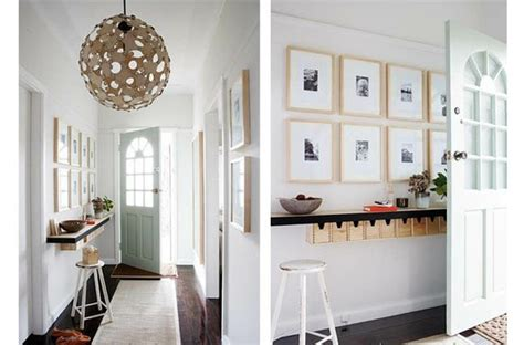 Decorating Small Entryway With Stairs