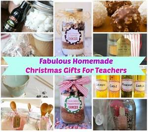 Homemade Christmas Teacher Gifts Pinterest 1000 ideas