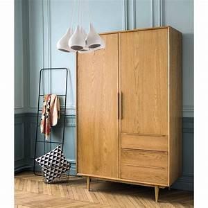 Dressing Maison Du Monde : dressing vintage 2 portes 3 tiroirs mon nid douillet ~ Nature-et-papiers.com Idées de Décoration