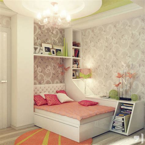 Decorating Small Teenage Girl's Bedroom Ideas Pictures