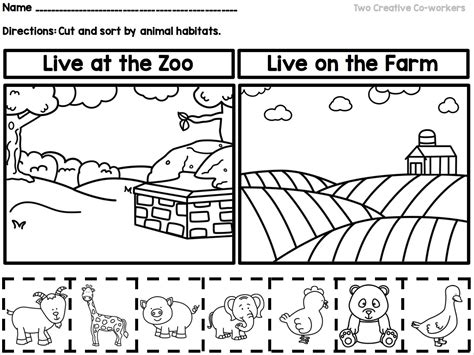 Sorting Worksheets For Preschool Worksheets For All  Download And Share Worksheets  Free On