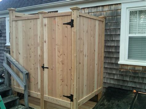 Outdoor Shower Company - cape cod outdoor shower company some of our work
