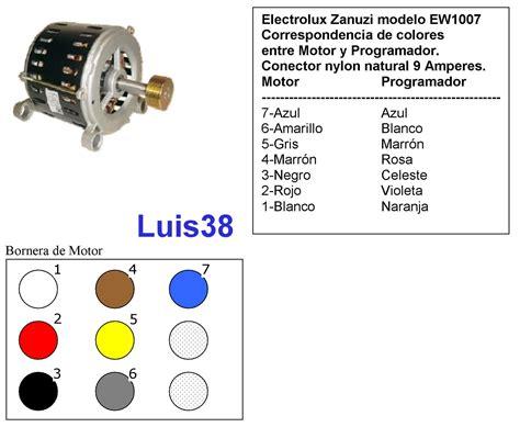 solucionado coneccion motor de lavarropas yoreparo