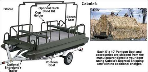 Pontoon Duck Blind Plans