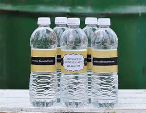 100 custom water bottle labels your business logo or by With business water bottle labels