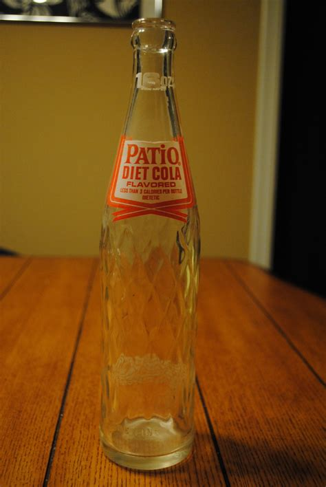 1963 patio diet cola pepsi co bottle collectors weekly