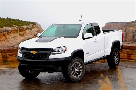 2017 Chevrolet Colorado Zr2 First Drive Review Car And