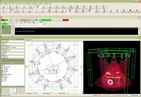 stage lighting simulator free stage lighting design cad software
