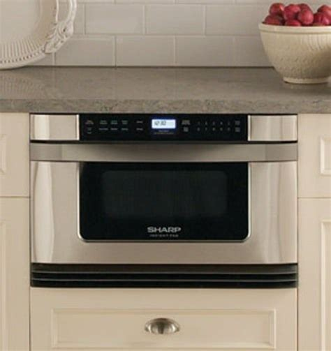 sharp drawer microwave 24 sharp kb 6024ms microwave drawer oven 24 inches wide