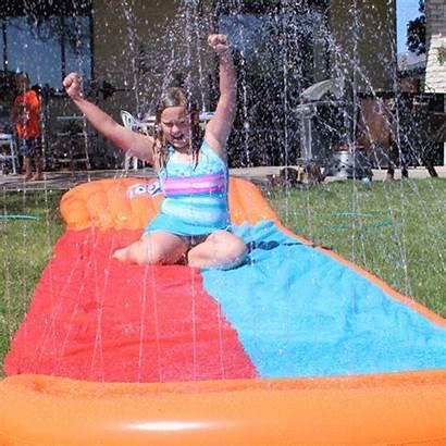 Fun Summer H2o Water Backyard Slide H20