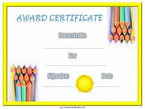 Certificate Of Achievement Templates Free  Download Certificate Of Completion Template Free