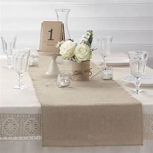 Tisch decken mit Sackleinen - fresHouse