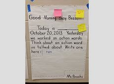 Want to incorporate morning messages into our morning
