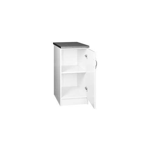 meuble de cuisine 60 cm meuble de cuisine bas 1 porte 60 cm dina mélaminé avec 1
