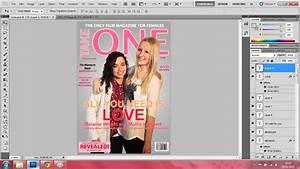 Melanie A2 Media: Finished magazine cover