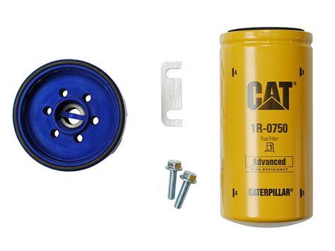 cat fuel filter for duramax 2001 2015 gm duramax sinister diesel cat fuel filter adapter