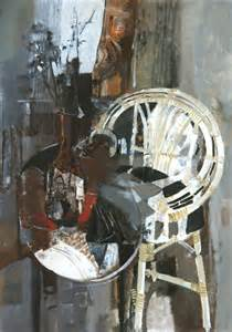 george cbell rha 1917 1979 still life with cane chair 19