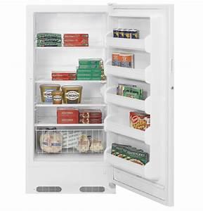 Ge U00ae 14 1 Cu  Ft  Manual Defrost Upright Freezer