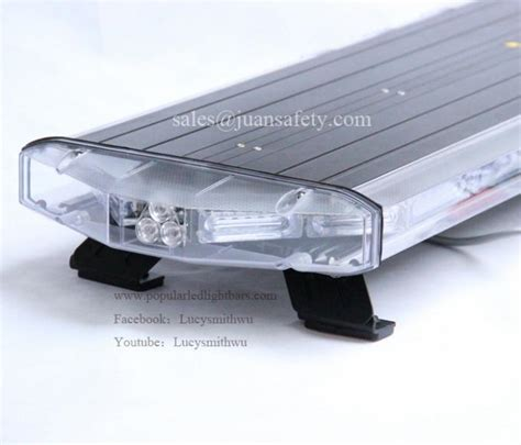 led warning emergency mini light bar led lightbar 12 24v