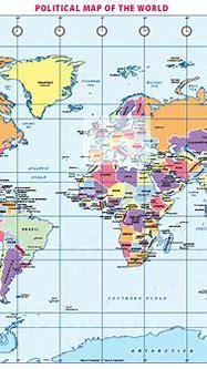 Political World map (A3) - £8.99 : Cosmographics Ltd