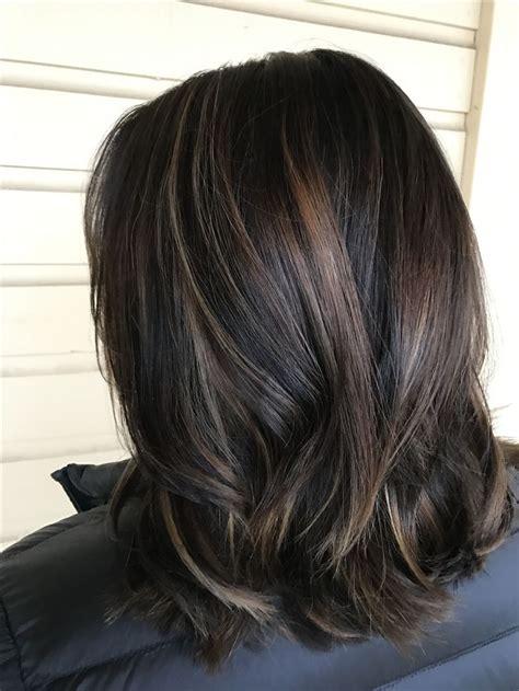 Blackish Brown Hair by 25 Besten Hair Color Balayage Bilder Auf